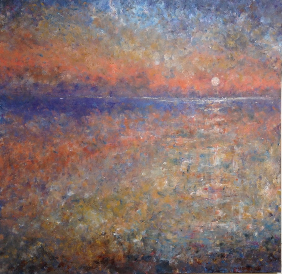 Tranquility Acrylic on Canvas 3ft x 3ft £600